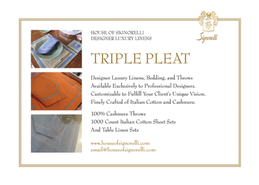 triple-pleat
