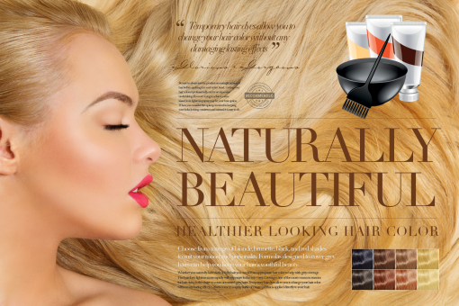 brian lee boyce hero beauty ad brunette